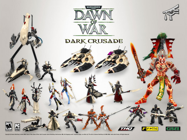 Warhammer 40.000: Dawn of War - Dark Crusade. скачать картинку.